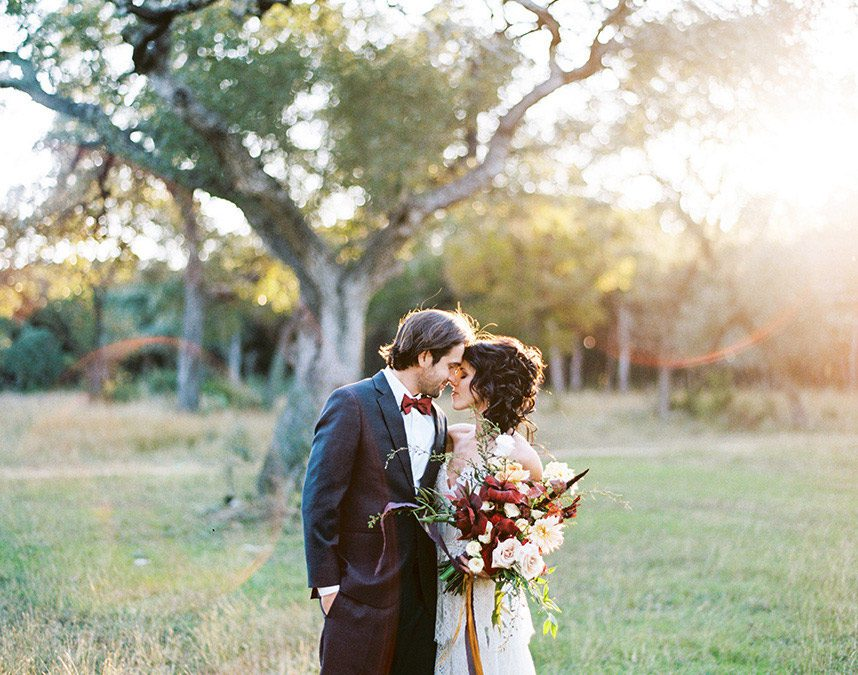 Warm and Rustic Style Wedding Photo Shoot
